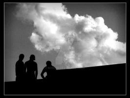 Guys and a cloud by Kcoool