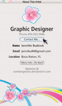 Another Business Card Idea by Saintbirdy