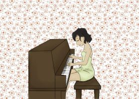 nova and her piano by weepingwillow96