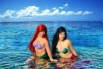 The Little Mermaids - Ariel and Melody by Nihila93
