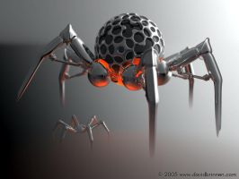 Insect droid MKI by davidbrinnen