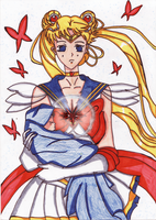 Super Sailor Moon by SerenaChildOfMoon