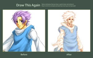 Draw This Again Challenge - Kyki by RoyLover