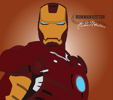 IronMan Vector by Patriot-DC
