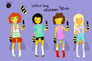 InsectBoy Adopts + Free Sketch [OPEN] by Cris-Gee