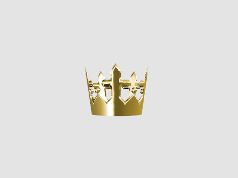 MMD Golden Crown by amiamy111