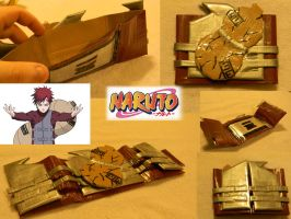 Naruto: Gaara Wallet by Mattierial