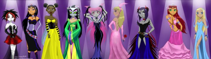 -Ladies Show- by limey404