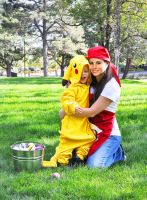I Caught Pikachu!!! by HeatherAfterCosplay