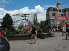 Kennywood Roller Coaster and Haunted Ride by TheStockWarehouse