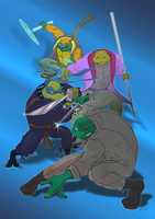TMNT TBOTS Future Never Knows by theblindalley
