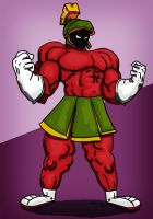 Buff Marvin the Martian by resresres