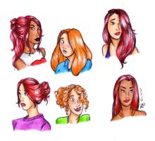 Ginger heads by red--ro-se