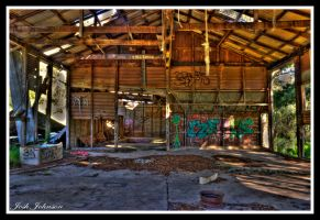 Deserted Shed HDR by chefjack