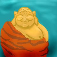 Happy Buddah by pathwreck