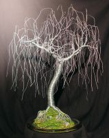Gentle Willow - Wire Tree by SalVillano