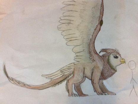 SEF The Griffin Or Gryphon. Same Diffrence. by The-sToneForesT