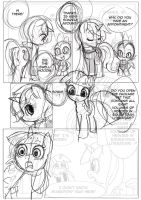 Background Pony Page 49 lineart (To be remade) by ParadoxBroken