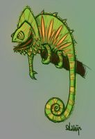 Chameleon rough by Ambair