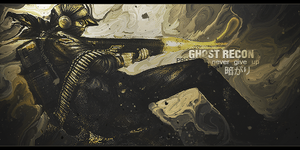 GHOST RECON by Yukio95
