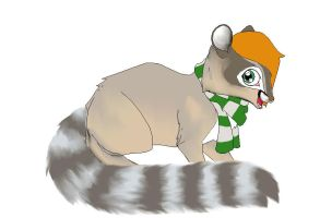 Ring-tailed cat by SlytherinJellyBean