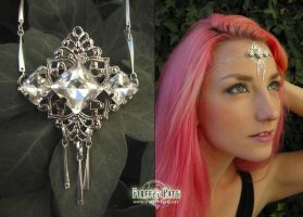 White Crystal Circlet by Lillyxandra