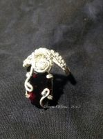 Thurisaz Ring by DreamsOfGems