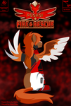 Pegasi: Fire and Rescue Cover by Aileen-Rose