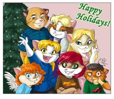 Happy Holidays from us Palmers by Candy-Janney