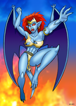 Rage Of Demona by curtsibling