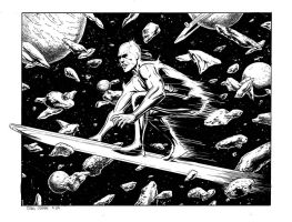 Silver Surfer II by craigcermak