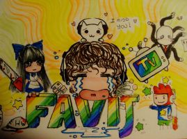 favij fan art chibi by Rose96ale