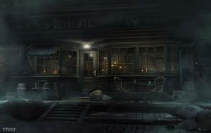 Thief - Reynard's Coffeehouse by MatLatArt