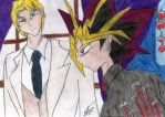Blood-C Yami and Alex: What are you planning to do by katerinaaqu