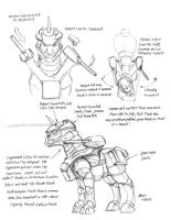Advanced pony combat armor by Baron-Engel