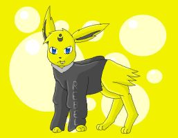Chrissie as Jolteon by TwilightTheEevee