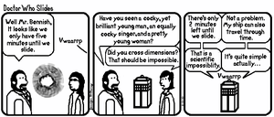 Fan Comic: Doctor Who Slides by JenniBee