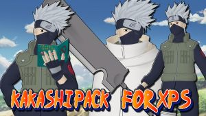 Naruto UNS3 - Kakashi Pack FOR XPS!! by ASideOfChidori