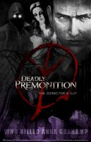 Deadly Premonition DC Poster -  Ver 1 by whitneyc