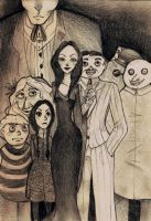 The Addams Family by NonokasX2
