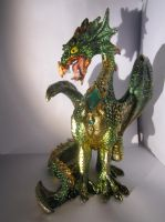 dragon statue by speedcow12