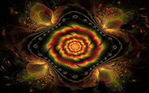 coloured weird flower by Andrea1981G