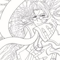 Trinity Blood Lineart by insomniacvampire