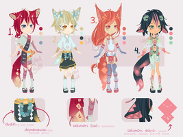 Set Price Adopts: Sekimori by sakonma