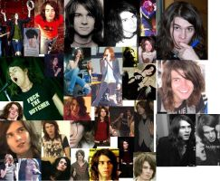 William Beckett collage by MelyssaThePunkRocker