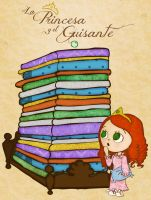 The Princess And The Pea by PetiteTangerine