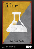 House Chekov sigil by DarkenedProngs