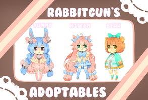 [[[[[Adoptable Giveaway]]]]]closed by rabbitgun