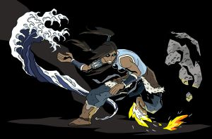 The Legend of Korra by Doton-Element