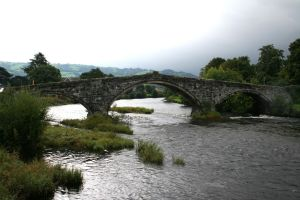 Stock - Llanrwst Bridge by GothicBohemianStock